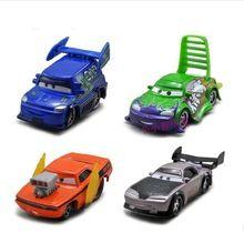 100% originele!!! Pixar cars gegoten speelgoed 4 x slechte jongens boost wingo dj en snot staaf(China (Mainland))