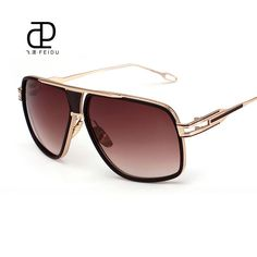 FEIDU Fashion Rectangle Sunglasses Women Men Luxury Brand Designer Mirror Sun Glasses Unisex UV400 Eyewear Oculos Gafas De Sol