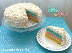 Cupcake Creativo: Tarta de Rosas (Vídeo-Tutorial)