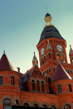 Old Red Courthouse (now the Old Red Museum), Dallas, Texas - built in 1892