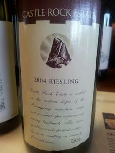 #CastleRock #Riesling 2004  (#RNAWA13)