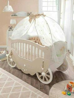 Use This Disney Cinderella S Crib In Your Home Decor Nursery Bed