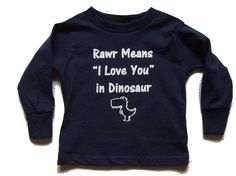 Dinosaur Long Sleeve T-Shirt Birthday Boy Shirts, Boy Birthday, Dinosaur Birthday, Dinosaur Shirt, Cute Dinosaur, First Birthday Themes, Baby Fashionista, Toddler Boy Fashion, Crazy Kids