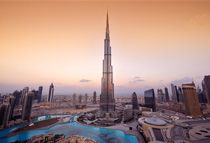 Dubai, located on the Persian Gulf Coast of the United Arab Emirates, is the second largest Emirate in size, with an urban area of 3,885 square kilometres.