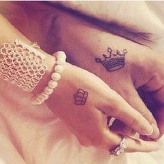 Image result for couples pinky tattoos