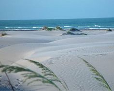 Beach on South Padre Island