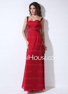 Bridesmaid Dresses - $106.99 - A-Line/Princess Sweetheart Floor-Length Chiffon Charmeuse Bridesmaid Dress With Ruffle (007001786) http://jenjenhouse.com/A-Line-Princess-Sweetheart-Floor-Length-Chiffon-Charmeuse-Bridesmaid-Dress-With-Ruffle-007001786-g1786