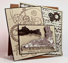 WT372 - F.E. Linus by stagccva - Cards and Paper Crafts at Splitcoaststampers