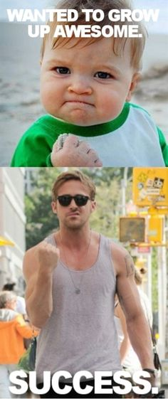 ryan gosling... indeed success :)