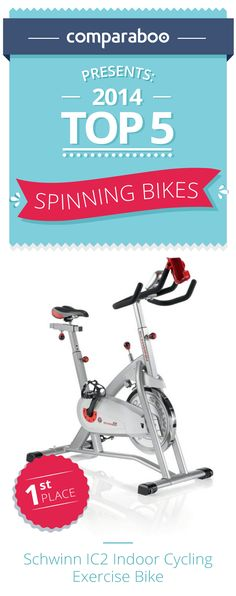 Indoor cycling is a healthy, fun way to stay in shape. When choosing a stationary exercise bike, there are many decisions to be made, so we at Comparaboo have created this list of the top 10 spinning bikes #spinning http://www.comparaboo.com/spinning-bikes