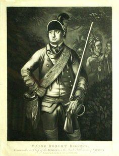 robert rogers american revolution