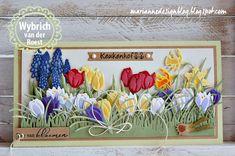 Voorjaar, het is mijn favoriete seizoen. Narcissen, tulpen, krokussen en blauwe druifjes het zijn echte voorjaarsbloemen. Op deze langwer...
