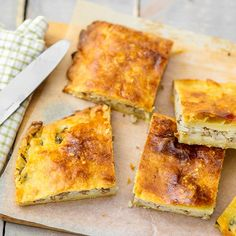 Peltilihapiirakka Cornbread, Pie, Ethnic Recipes, Food, Millet Bread, Torte, Cake, Fruit Cakes, Essen