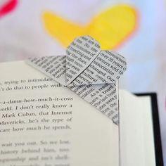 Origami Corner Bookmarker ;)