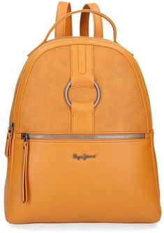 Mochilas Mujer Casual Originales 2021 Pepe Jeans, Mini Mochila, Zara, Unisex, Leather Backpack, Backpacks, Fashion, Backpack Brands, Small Backpack