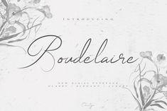 Chocotype // Boudelaire Script