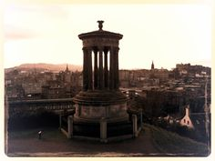 Dugald Stewart Monument on Edinburgh's Calton Hill by Karen V Bryan, via Flickr