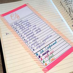 Bonjour, bonjour!      Moi qui suis donc fan d'organisation etc… En surfant sur le web, j'ai un jour pris connaissance du «Bullet journal...