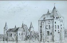 Kasteel Mierlo omstreeks 1650