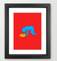 Original Art Poster  Super Funny  Keith by EstefAzevedo on Etsy