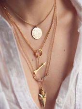 Unique Jewelry - Fashion Charm Jewelry Crystal Choker Chunky Statement Bib Pendant Necklace Chain