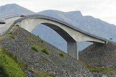 The Atlantic Road, near Romsdal, Norway