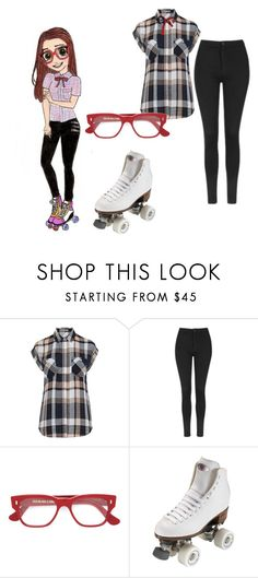 """""""soy luna"""" by maria-look on Polyvore featuring Oasis, Topshop, Cutler and Gross and Riedell"""