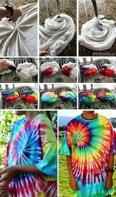 Tie Dye your Summer! Tie Dye Your Summer continues with a spark and bang – our Blueprint Social Campaign will keep more great tie dye ideas coming! The post Tie Dye your Summer! appeared first on DIY Crafts. Diy Tie Dye Shirts, Diy Shirt, Tye Die Shirts, Dip Dye Shirt, Fold Shirts, Shirt Refashion, Shibori, Batik Shirt, Tie Dye Tutorial