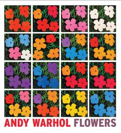 Eykyn MacClean gallery till dec 8th Andy Warhol Flowers