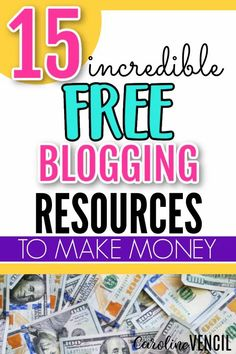 Do you want to learn more about blogging for FREE?  Here are 15 FREE resources for your blog that are worth paying for.  #bloggingtipsforbeginners #freeblogstuff #blogging101 #freeresourcesforbloggers #freestuffforbloggers #bloggingtips #successfulbloggertips Blogger Tips, Free Blog, The Incredibles
