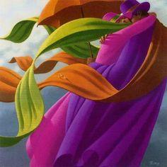 Клод Теберж (Claude Theberge) і його різнобарвні світи | Записи AЯT (Искусство) | УОЛ