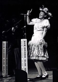 Minnie Pearl performing on the @Grand Ole Opry!