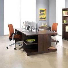 Steelcase office for two