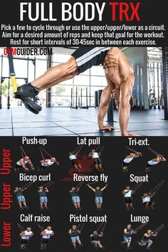 If youve ever taken a group HIIT class or worked out in. Suspension Workout, Trx Suspension Trainer, Suspension Training, Gym Workout Tips, Fit Board Workouts, At Home Workouts, Hiit Workouts For Men, Trx Home Gym, Trx Gym