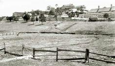 View of Victoria Park in Brisbane,Queensland in 1920.