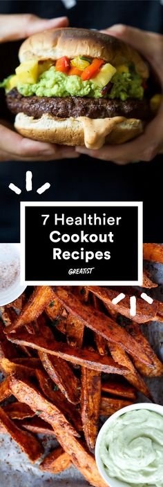 Build a better BBQ with these ideas. #healthier #fourthofjuly #recipes http://greatist.com/eat/summer-recipes-for-a-healthier-cookout