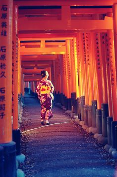 Fushimi Inari shrine, Kyoto, Japan -- One of my favorite places! I hope I get to visit again.