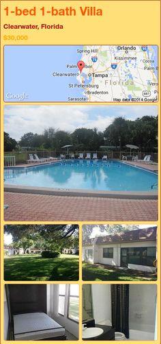 1-bed 1-bath Villa in Clearwater, Florida ►$30,000 #PropertyForSale #RealEstate #Florida http://florida-magic.com/properties/89785-villa-for-sale-in-clearwater-florida-with-1-bedroom-1-bathroom