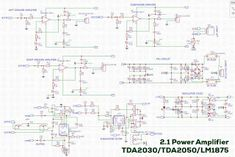 TDA2030 TDA2050 LM1875 amplifier circuit 2.1 Channel speakers Bill Of Materials, Power Supply Circuit, Music Power, Stereo Amplifier, Circuit Diagram, Speakers, Channel, Music Speakers