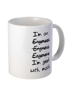 I'm an Engineer mug. part of my Christmas present for my boyfriend Christmas Ideas For Boyfriend, Diy Gifts For Boyfriend, Boyfriend Anniversary Gifts, Birthday Gifts For Boyfriend, Diy Birthday Mugs, Diy Gifts In A Jar, Handmade Gifts, Engineer Mug, Family Presents