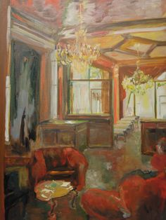 Best Interior Design Schools In California Painting desert restaurant. in the early 1960s, register studied art at the