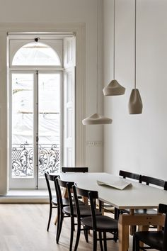 Marset - Pleat Box suspension ceramic lamps, Craft design by Xavier Mañosa from…| Visit www.contemporarylighting.eu for more inspiring images and decor inspirations