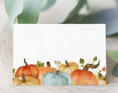 Thanksgiving place cards | Etsy