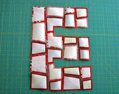Making Fussy Patchwork Letters