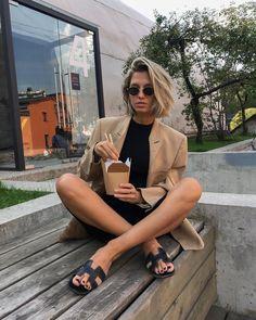 Camel Blazer, Instagram Feed, Women Wear, Outfits, Fashion, Moda, Suits, Fashion Styles, Fashion Illustrations