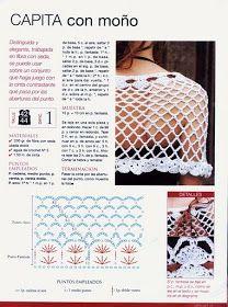 Esta pelerine é muito fácil e rápida de fazer. Pode ser feita em linha ou lã, como melhor convier.    Para visualizar o gráfico do ponto cli...