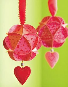 Simple Handmade St`Valentines day craft