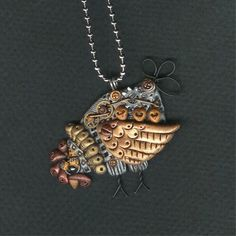 Great Steampunk Chicken   buk buk buk!  How cool is this???