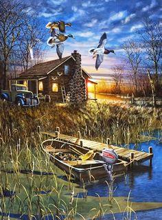 peintures à l'huile-paysages-réalistes