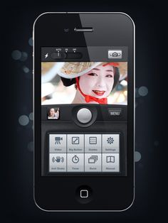 Camera Genius App Interface | Designer: Artua - http://www.artua.com | Develper: CodeGoo - http://www.codegoo.com/page/camera-genius
